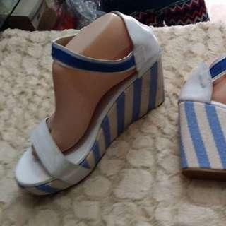 Trendy Wedge Sandals