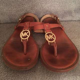 Preloved Authentic Michael Kors Sandals