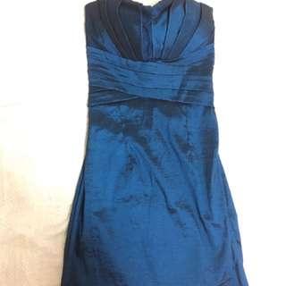 GG Short Blue Dress
