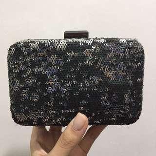 Topshop Clutch Bag W/ Strap