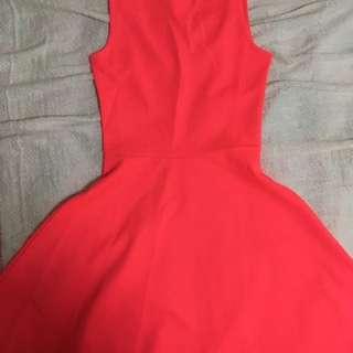H&M Neon Pink Dress