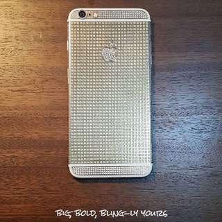 iPhone 6+ Plus 128gb Crystal Gold Custom Edition