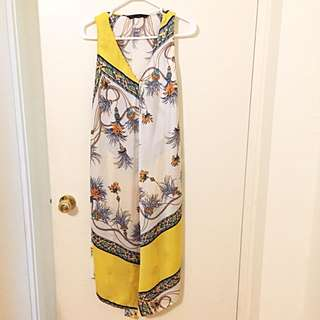 ZARA Silky Summer Dress