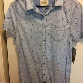 Shirt Sleeve Shirt- A Life Well worn. Size Small