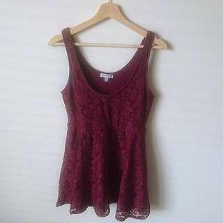 Medium | Maroon Dress