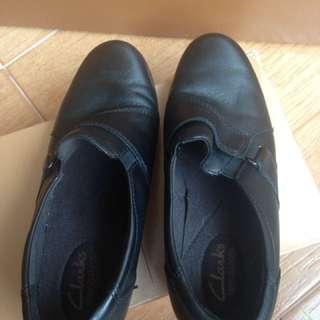 Clarks Black Shoes