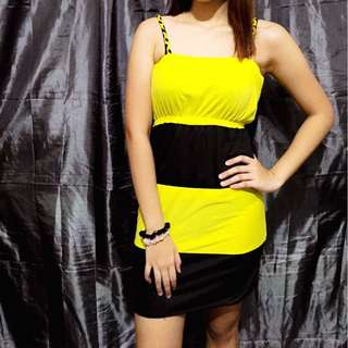 Bumble bee Summer Dress