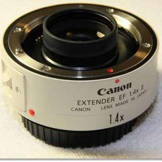 限時下殺 Canon EF EXTENDER 1.4X II 增倍鏡 小白 小小白 大白等白鏡的最佳搭檔