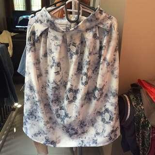Rose Patterned Skirt