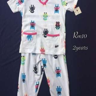 2 Years Pyjamas