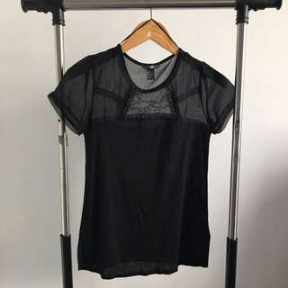NEW - H&M LACE TOP