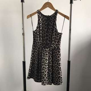 NEW - NEW LOOK LEOPARD DRESS