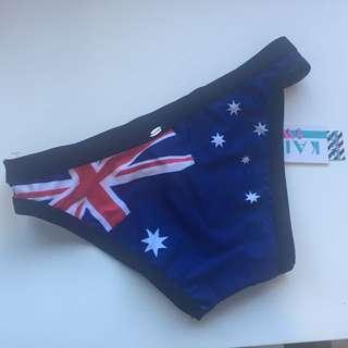 💛BNWT Australia Day Print Bikini Bottoms City Beach 6
