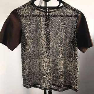NEW - BROWN TOP