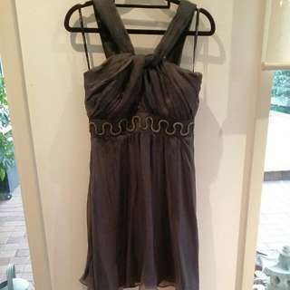 Gunmetal Grey Dress