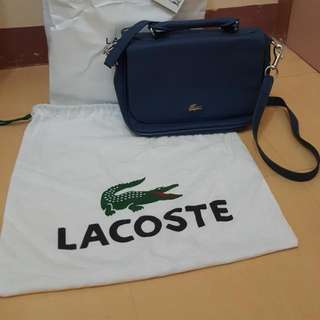 Authentic Lacoste satchel Bag