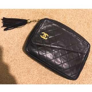 Authentic Chanel vintage clutch bag
