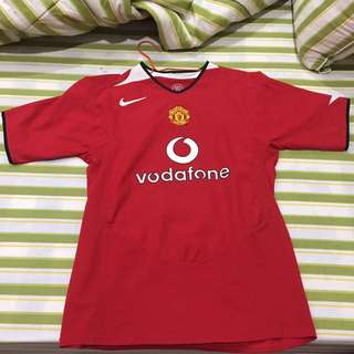 Jersey Manchester United Original Ronaldo CR7 Home Season 04/06