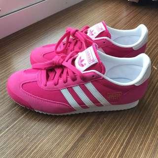 Adidas Dragon 桃紅