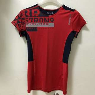 Reebok Red Workout Shirt