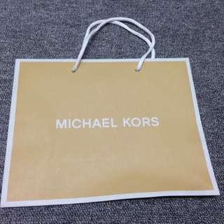 MK Michael Kors名牌紙袋