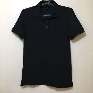 Uniqlo Black Polo Shirt