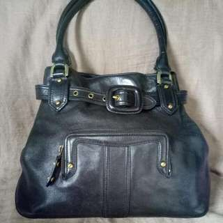 REPRICED!! Cole Haan Black Leather Bag