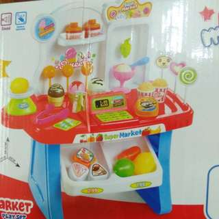 New -Mini Market 34pcs