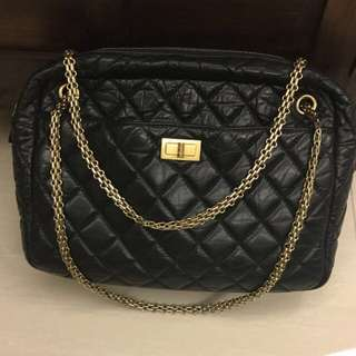 On hold!!! Chanel Reissue Jumbo 227 In Distressed Leather