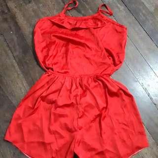 Terno Nighty Red