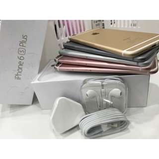 iphone 6s plus 64gb myset complete box