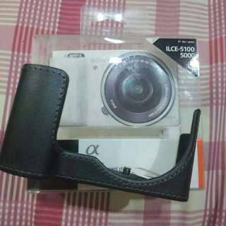Half Leather Case Sony A5100