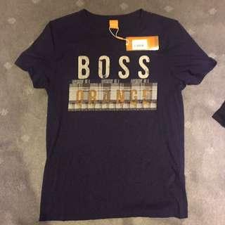 Hugo Boss Orange T-Shirt Size S