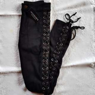 Fashionova Black Pants Size S
