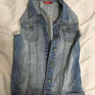 Jag Jeans Light Blue Denim Vest