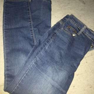 denim hight waist pants