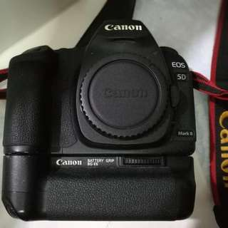 Canon 5d Mark 2 Body With Battery Grip
