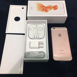 iPhone6s 16gb Rosegold