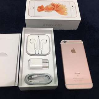 iPhone6s 64gb Rosegold