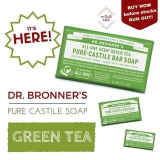 Dr. Bronners Bar Soap - Green Tea