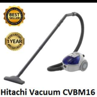 Hitachi Powerful 1600W Compact Vacuum Cleaner Cv-BM16