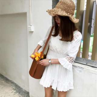 White Lace Rompers