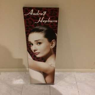Small Audrey Hepburn Canvas FREE WITH OTHER PURCHASE