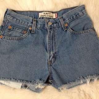 Levis, Vintage - High Rise shorts