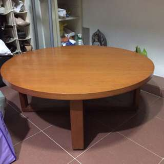 Solid Wood Round Table Very Sturdy And You Cannot Find Another Similar piece