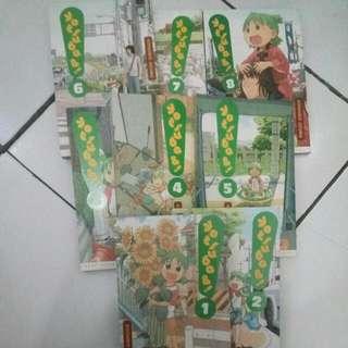 Komik Yotsuba Seri 1-8