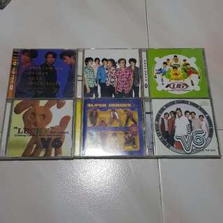 V6 album CDs