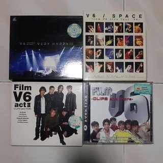 V6 Concerts & Clips VCDs