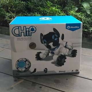 WowWee Chip The Smart & Lovable Robot Dog - White