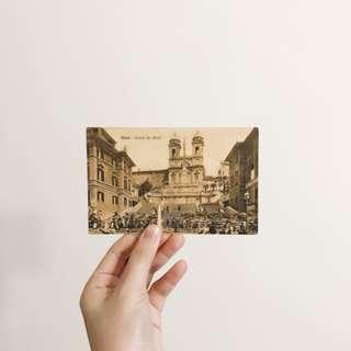 國外明信片 購於義大利 復古系列 Postcards 文具控